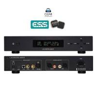 LKS MH-DA004 DSD 512 DAC Digital to Analog Converter USB DA WANDLER HIGHEND-BLACK