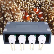 JEBAO DP-4S 4 Channels Reef Aquarium Peristaltic Dosing Pump Automatic Doser