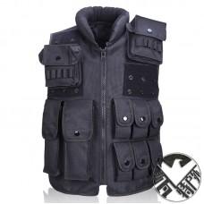 800D Oxford SWAT Hunting Combat Military Tactical Vest Police Molle Vest Black