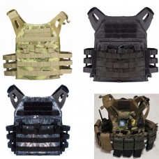 Tactical Lightweight MOLLE Tactical Armor Plate Carrier JPC Vest Mag Pouches