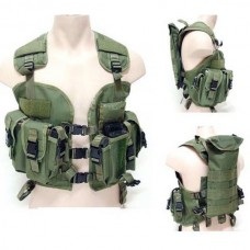 Green US Navy Seal Modular Load Swat Assault Tactical Vest