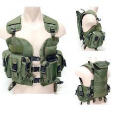 Green US Navy Seal Modular Load Swat Assault Tactical Vest