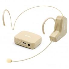 2.4G Wireless Headset Microphone Speech Megaphone Radio Mic for Meeting Customer Service Teaching