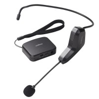 2.4G Wireless Headset Microphone Speech Megaphone Radio Mic Tour Guide Microphone