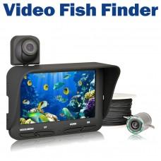 Dual Lens 2.0 Mega Pixels Underwater Fishing Camera Recorder for 720P LCD Display 20m Fish Finder DVR