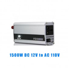 1500W DC 12V to AC 110V Car Power Inverter Charger Converter Adapter Modified Sine Wave