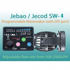 Jebao Upgraded SW-4 Programmable Wavemaker Marine Coral Reef Aquarium Fish Tank