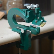 Green Manual Craft Leather Paring Machine Edge Skiving Peeler Splitter Skiver with Blade