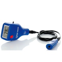 QNix 4500 Quanix Paint Meter/Gauge w/ integrated Cable FNF 200/120 Mil Probe Fe/NFe