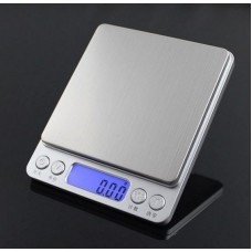 500g 0.01  Portable Mini Electronic Digital Scales Pocket Case Postal with 2 Trays