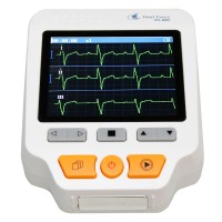 PC-80D Handheld Electrocardiogram Heart Monitor ECG Monitor Monitoring Health Care Machine