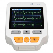 PC-80D Handheld Electrocardiogram Heart Monitor ECG Monitor Monitoring Health Care Machine