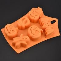 Halloween Chocolate Mold Silica Gel Model Baking Cake Mould Bakeware Baking Tools