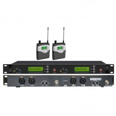 MS-5080 Stage Professional UHF Wireless In-Ear Headphones Monitor System Transmitter Receiver