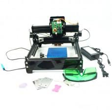 Assembled 15W 15000MW DIY Laser Engraving Machine Metal Engraver Metal Carving CNC Router Machine