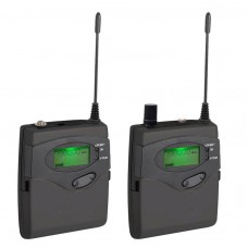 Bodypack Receiver for In Ear Monitor System Wireless DSLR Camera Microphone Tour Guide System
