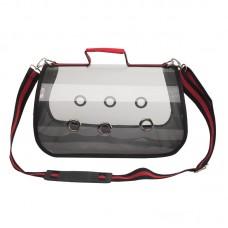 Puppy Pet Transparent Bag Outdoor Pet Backpack Carrier Folding Travel Bag Breathable Pet Bag