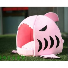 Dog Bed Pet Cat Bed Shark Kennel Cats House Small Mini Nest Guinea Pig Bed Interesting Pets House