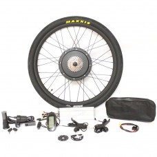 "48V 1500W 26"" 27.5"" 28"" Rear Wheel eBike Conversion Kits with LCD Display EU Stock"