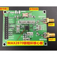 MAX2870 23.5MHZ-6GHZ Phase-locked Loop Core Board  Digital Interface Reference Clock