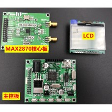 MAX2870 23.5MHZ-6GHZ PLL Core Board + Control Board for Signal Generator Frequency Source