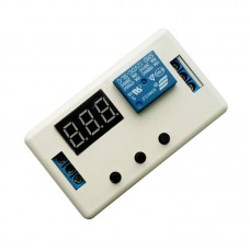 Digital LED Display Time Delay Relay Module Board DC 12V Control Timer Switch Trigger Cycle Module With Case