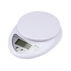 5kg/1g Kitchen Digital Scale Balance Food Diet Postal Weight Scale LCD Electronic White Scales