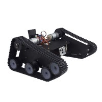 Robo-Soul TK-210 Creeper Truck Crawler Car Chassis RC Robot Base Kit w/ 2DOF Camera PTZ + LD-1501MG Servo