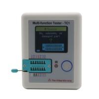 Multi-function Tester TC1 LCR TFT Colour Backlight Transistor Test Hooks