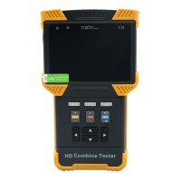 "SEESII DT-T60 4.0"" HD 1080P Tester LED RTP IPC CCTV IP Analog Camera Test ONVIF PTZ Control Handheld 8GB"