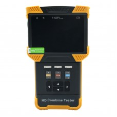 "SEESII DT-T60 4.0"" HD 1080P Tester LED RTP IPC CCTV IP Analog Camera Test POE ONVIF PTZ Control Handheld 8GB"