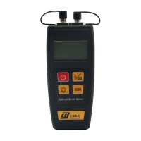 All in One Fiber Optical Power Meter 50mW Visual Fault Locator YJ-550C Mini Size