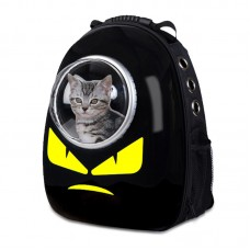 Pet Carrier Dog Cat Space Capsule Shaped Pet Travel Carrying Breathable Backpack Outside Travel Bag