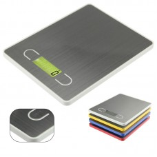 5kg/0.1g Digital Scale Kitchen Weight Electronic Balance Cooking Tools with Stainless Steel Platform