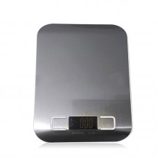 5kg/1g Digital Scale Kitchen Weight Electronic Balance Cooking Tools with Super Slim Stainless Steel Platform