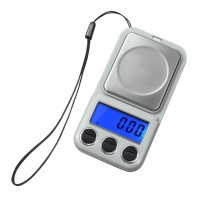 100g/0.01g+600g/0.1g Digital Pocket Scale Electronic Jewelry Diamonds Scale Weight Kitchen Scales