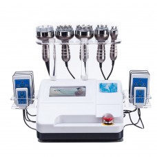 Ultrasonic Vacuum Cavitation RF Lipo 40K Laser Bipolar Slimming Cellulite Machine