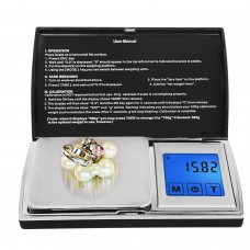 500g/0.1g 1000g/0.1g Jewelry Diamond Scale Pocket Electronic Scale Balance Weighing