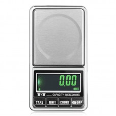 600g/0.01g Gold Scale Jewelry Digital Electronic Pocket Scale USB Power