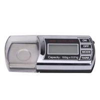 100g/0.01g Digital Scale LCD Pocket Jewelry Diamond Precision Balance Weight Scale