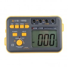 Rod Detector Digital Earth Low Tester Victor VC4105B Earth Resistance Tester