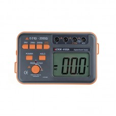 VC4105A LCD Digital Earth Resistance Tester Ground Resistance Voltage Meter