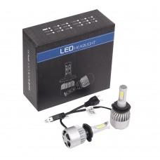 2x S2 H7 72W 16000LM LED Headlight Car Auto Vehicle Bulb Fog Lamp for SUV Truck