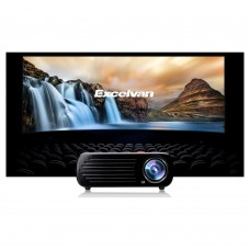 LED HD 1080p Projector Multi-media LCD 3D Home Cinema Theater 2600 Lumens