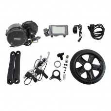 Bafang BBS02 48V 750W Mid-Drive Motor E-Bike Conversion Kits With Integrated Controller & C961 LCD Panel
