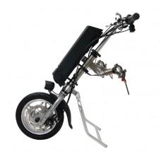 36V 250W Electric Handcycle Wheelchair Attachment Handbike DIY Conversion Kits with 36V 9AH Li-ion Battery
