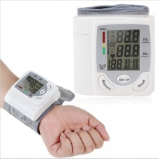 Automatic Wrist Watch Blood Pressure Monitor Sphygmomanometer HQ-806