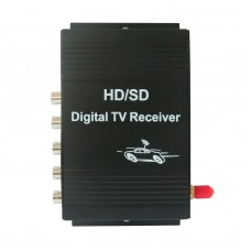 HD/SD Mobile USA TV Tuner Receiver Car Digital Box ATSC 4-channel 50-810MHz M-488X