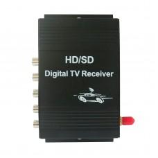 HD/SD Mobile USA TV Tuner Receiver Car Digital Box ATSC 4-channel 50-810MHz M-488X