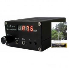 EL-07 RF70120 5W FM Transmitter Audio Amplifier CNC Stereo 87.5-108MHZ